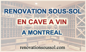 construction renovation cave a vin au sous-sol montreal